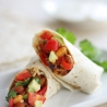 Spicy Pinto & Baked Bean Wrap
