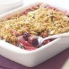 Blackberry Oat Crumble with Almonds