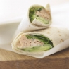 Salmon and Spinach Wrap