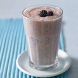 Banana Smoothie with Red Berries and Honey