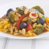 Flageolet Bean & Broccoli Provencal