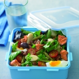 Salmon Nicoise Mixed Bean Lunchbox Salad