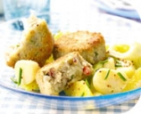 Thai Mackerel Fishcakes with New Potato Salad