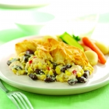 Chicken & Vegetable Filo Pie