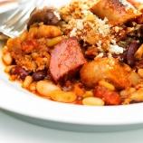 Sausage and Mushroom Cassoulet