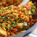 Curried Chicken and Rice Stir-fry