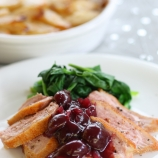 Roast Duck Breast with Cherry Sauce