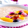 Coconut Rice Pudding with Exotic Fruits