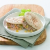 Tuna Spread and Vegetable Mini Pitta Pockets