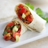 Spicy Pinto & Baked Bean Wraps