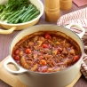 Pork & Fennel with Red Wine & Borlotti Beans Casserole
