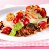 Easter Recipes with James Martin and Philippa Forrester: Cod on Lentil & Mushroom Ratatouille