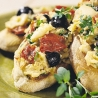Christmas Catering with James Martin and Philippa Forrester: White Bean Bruschetta