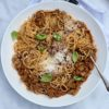 Beef & Lentil Spaghetti Bolognese – Simply food by Mandy